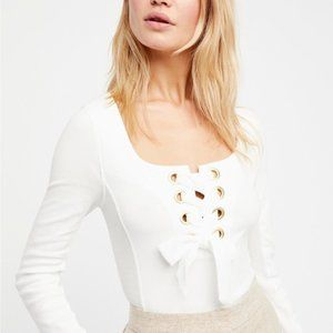 Free People Looking Back White Top